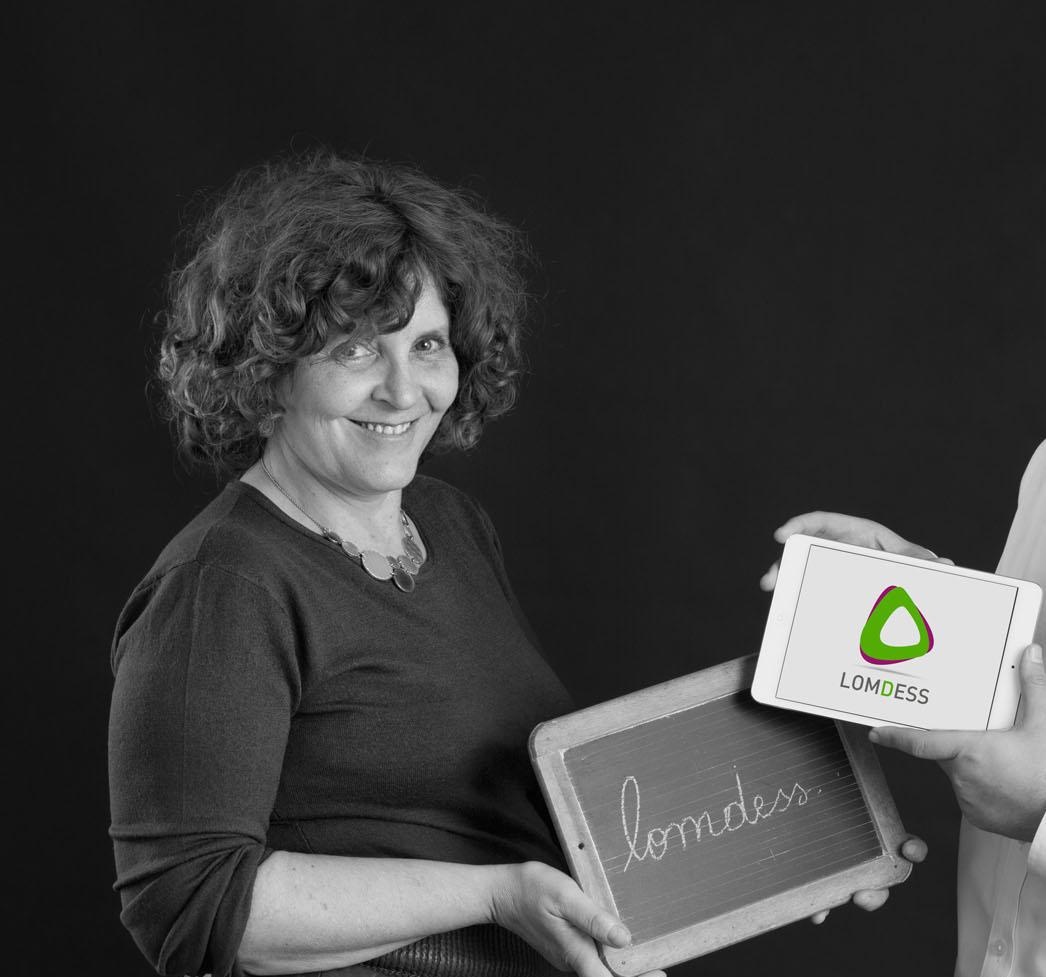 Noémie Danan, fondatrice de la plateforme de formations à distance Lomdess, mise sur la pédagogie DR