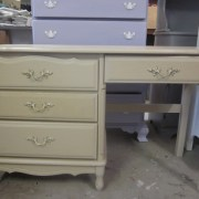 French Desk, tan