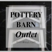 Pottery Barn Outlet!