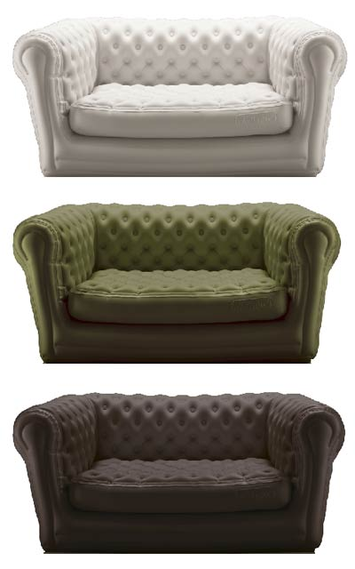 Canapé Gonflable Chesterfield Chesterfield Gonflable. – Lavieenrouge