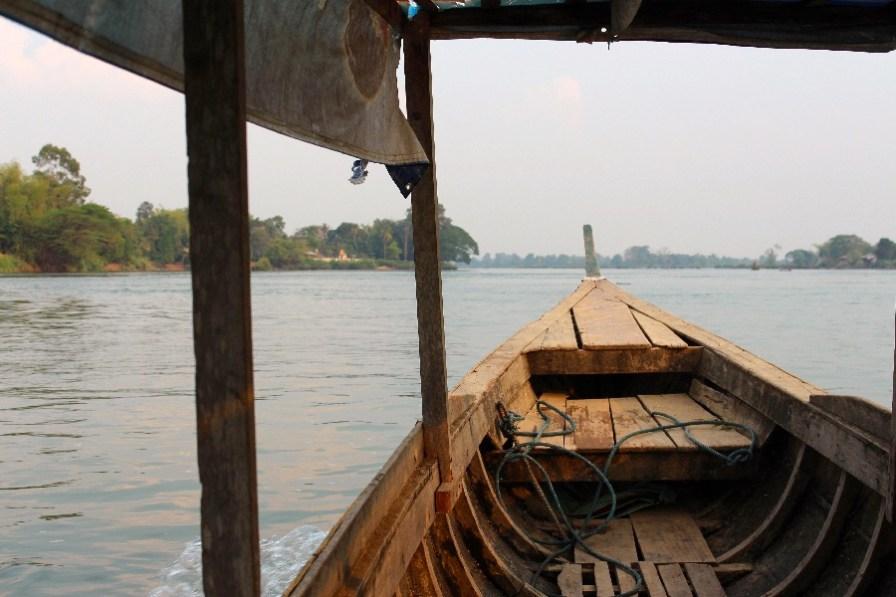 La traversée jusqu'à Don Khon.