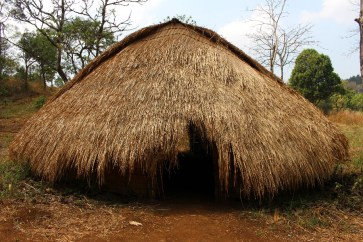 Une maison traditionnelle.