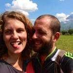 selfie-volcan-mayon-legazpi