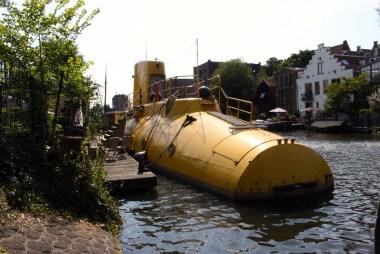 Le fameux sous-marin jaune