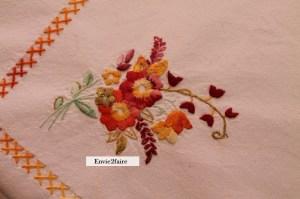 Détail bouquet de fleurs