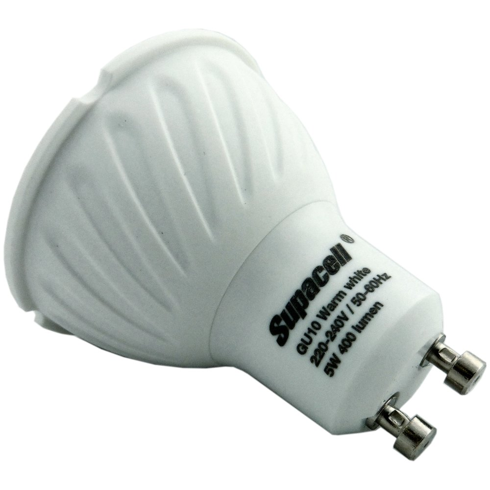 Supacell Digital Dimmable Gu10 Spot Bulb 5w 6500k Cool