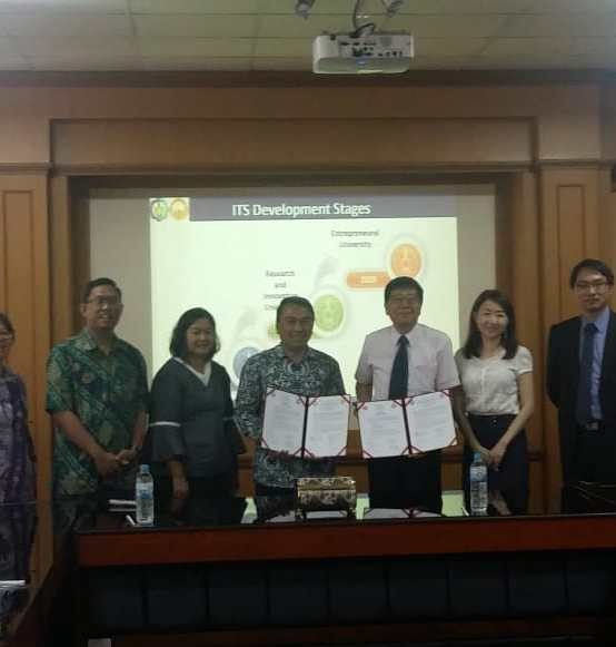 Kolaborasi Riset Dengan National Taiwan University College of Engineering