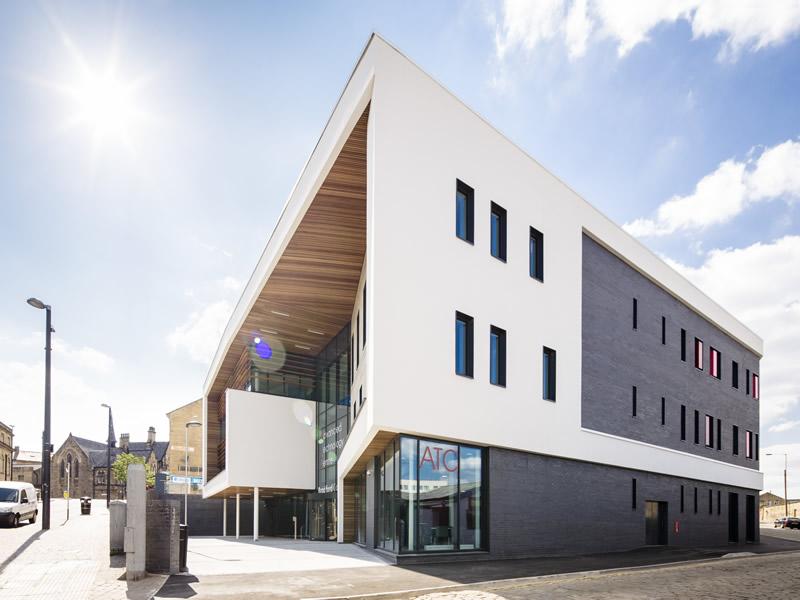 Bradford College Advanced Technology Centre Environmental Services - new blueprint centre aylesbury