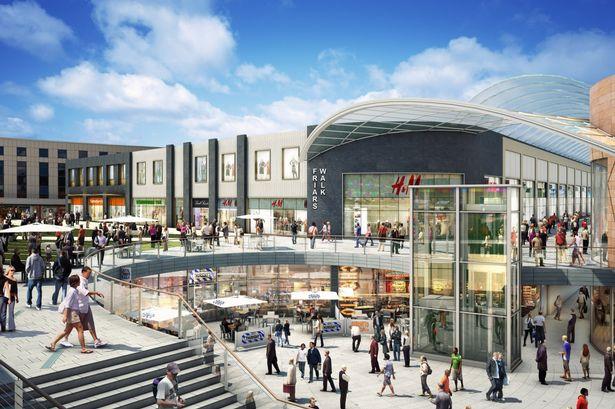Newport City Centre Redevelopment Friars Walk Shopping Centre - new blueprint centre aylesbury