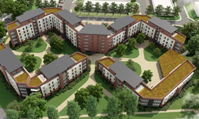 University of Hull, Student Accommodation Environmental Services - new blueprint centre aylesbury