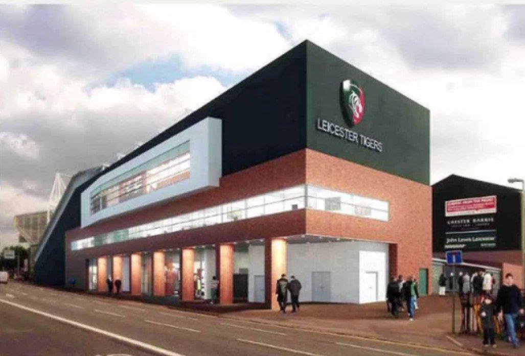 Leicester Tigers Stadium Environmental Services Design - new blueprint centre aylesbury