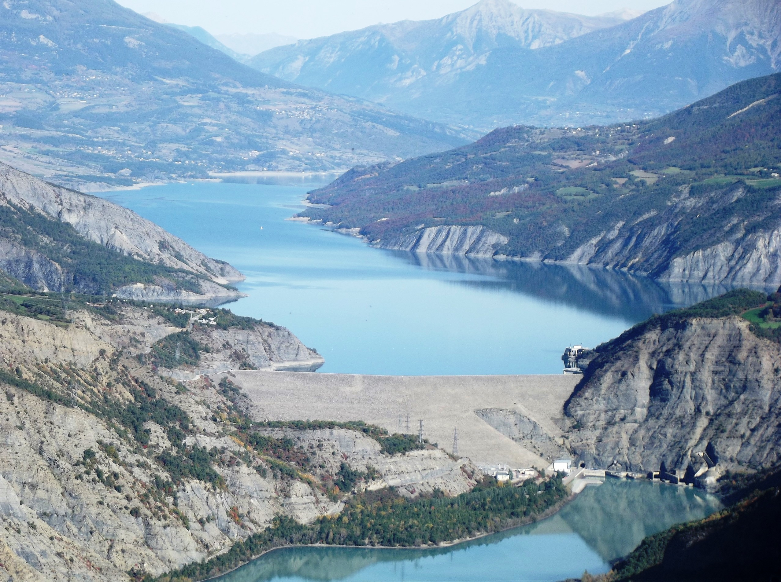 Ro K Serre The Serre Ponçon Dam And The Durance River The Founding Act