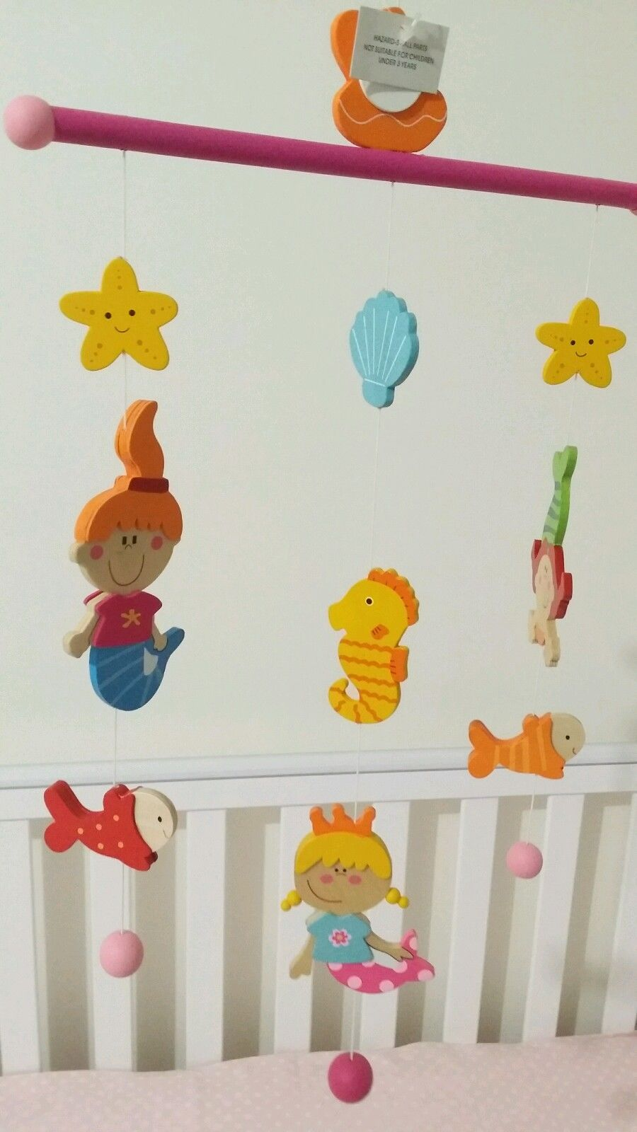 Wooden Baby Mobile Wooden Baby Mobile For Cot Crib Nursery Decor Baby Development Newborn Gift