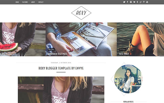 Envye \u2013 Premium Blogger and WordPress Themes - fashion blogger templates
