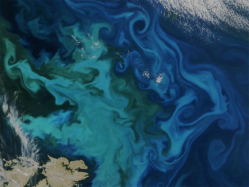 Interactive Online Maps Make Satellite Ocean Data Accessible - Eos