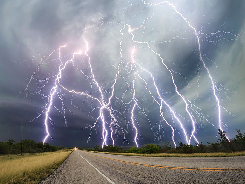 Lightning A New Essential Climate Variable - Eos