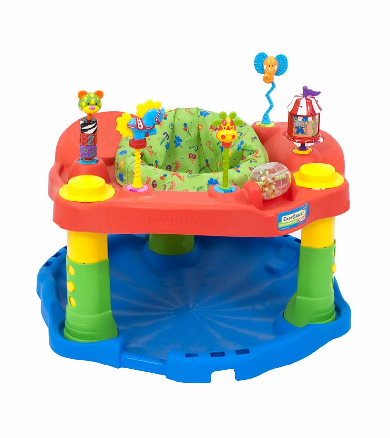 Exersaucer Images Evenflo Exersaucer Deluxe Active Learning Center - Green