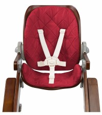 Summer Infant Bentwood High Chair Seat Set - Cranberry