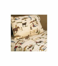 Sweet JoJo Designs Wild West Cowboy Twin Sheet Set - Horse ...