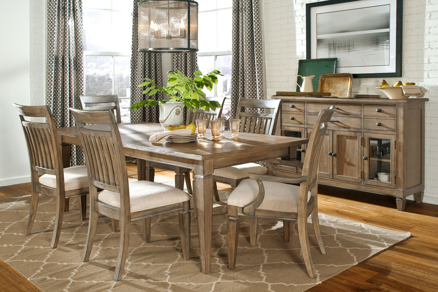 Dining Room Furniture Rustic Gavin Rustic Formal Dining Room Set Fine Dining Furniture