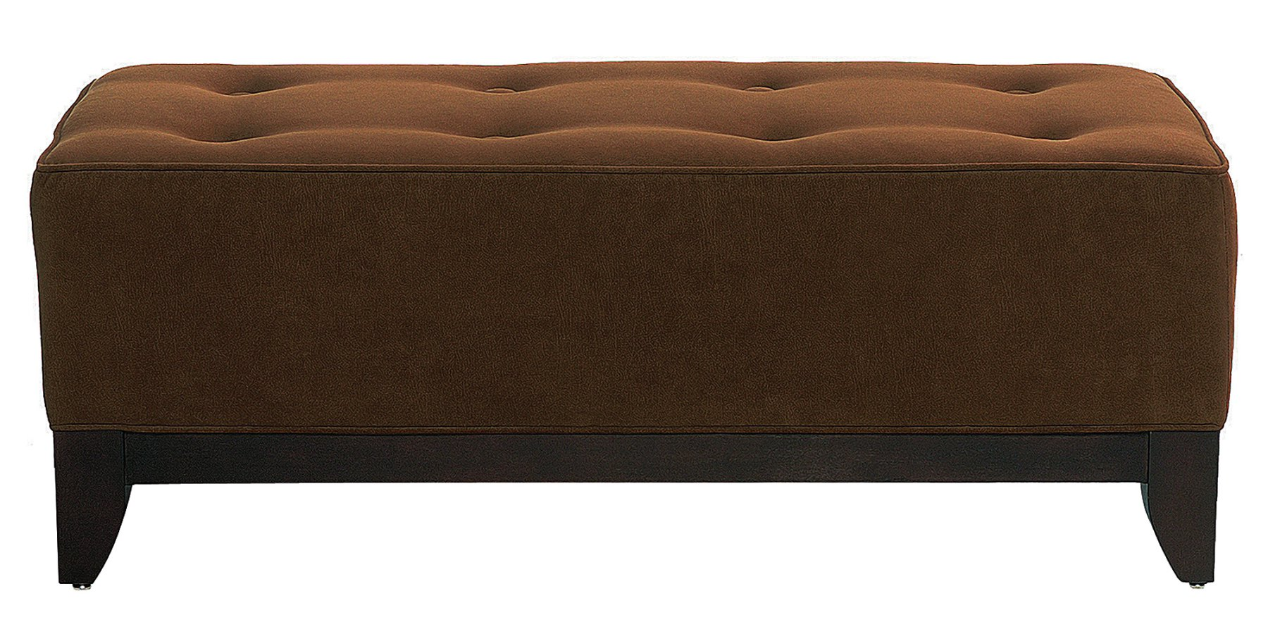 Fabric Upholstered Coffee Table Ottoman