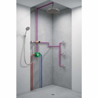 Hansgrohe 15930181 Quattro 3-Way Diverter Valve Rough-In