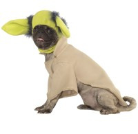 Yoda Dog Costume - Large