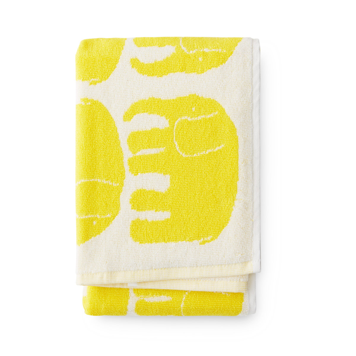 Yellow Towels Finlayson Elefantti Yellow Hand Towel Finlayson