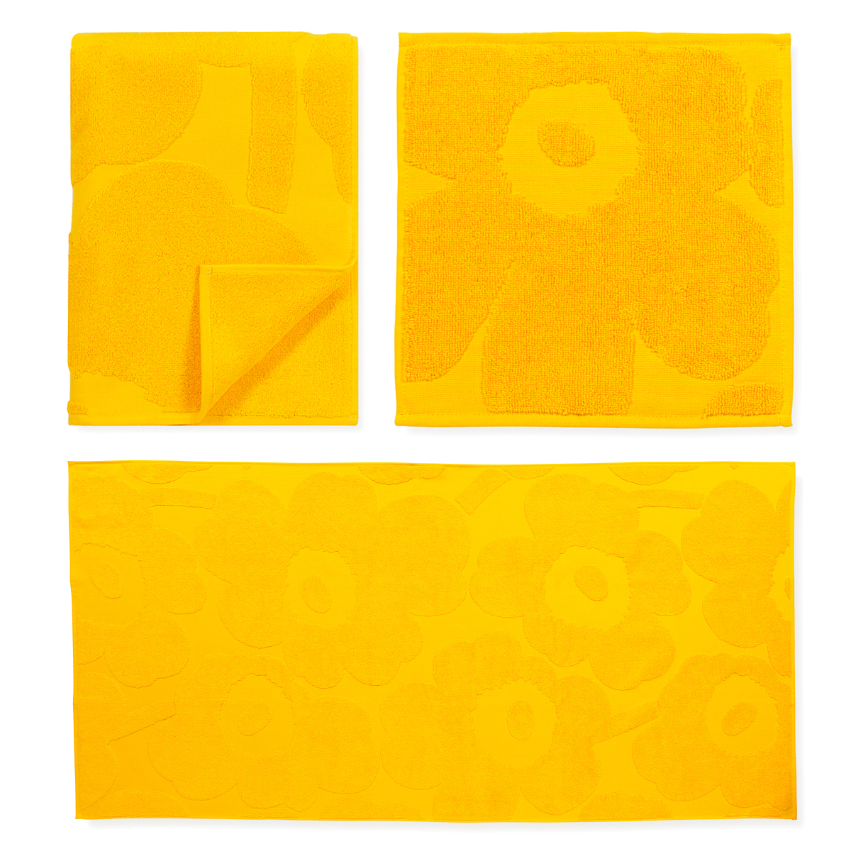 Yellow Towels Marimekko Unikko Yellow Bath Towels New Arrivals
