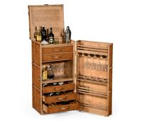 494487 Jonathan Charles Voyager Travel Trunk Style Wine ...