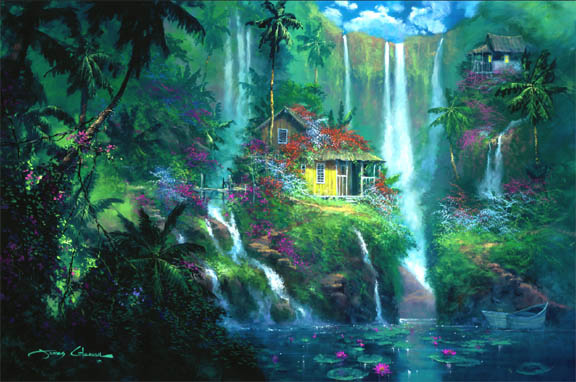Mystic Falls Wallpaper James Coleman Handsigned And Numbered Limited Edition