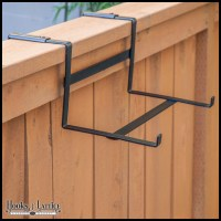 Flower Box Deck Brackets & Window Box Brackets For Railings