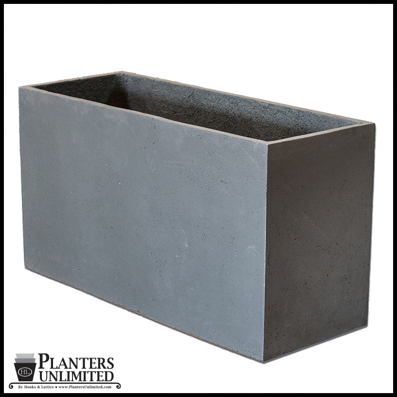 Large Commercial Rectangular Planters