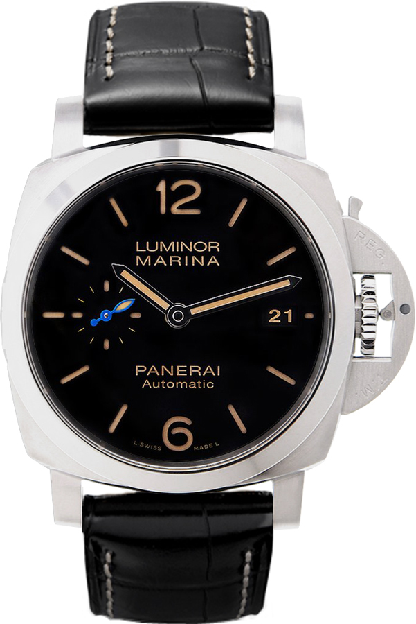 Silver Strap Watches For Men Pam01392 | Panerai Luminor Marina | Mens Watch