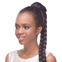 Draw String Braid Hair Piece