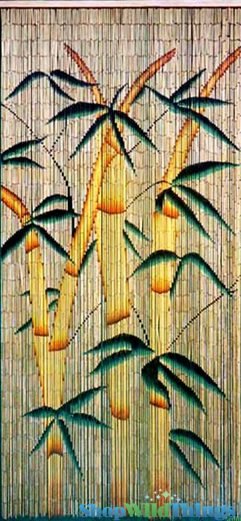 Painted bamboo curtains bamboo painted beaded curtain bamboo forest 90