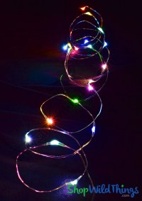Fairy String Lights with 20 LED's, Multicolor Colorful ...
