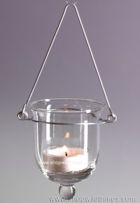 Hanging Glass Votive Candle Holders - ShopWildThings