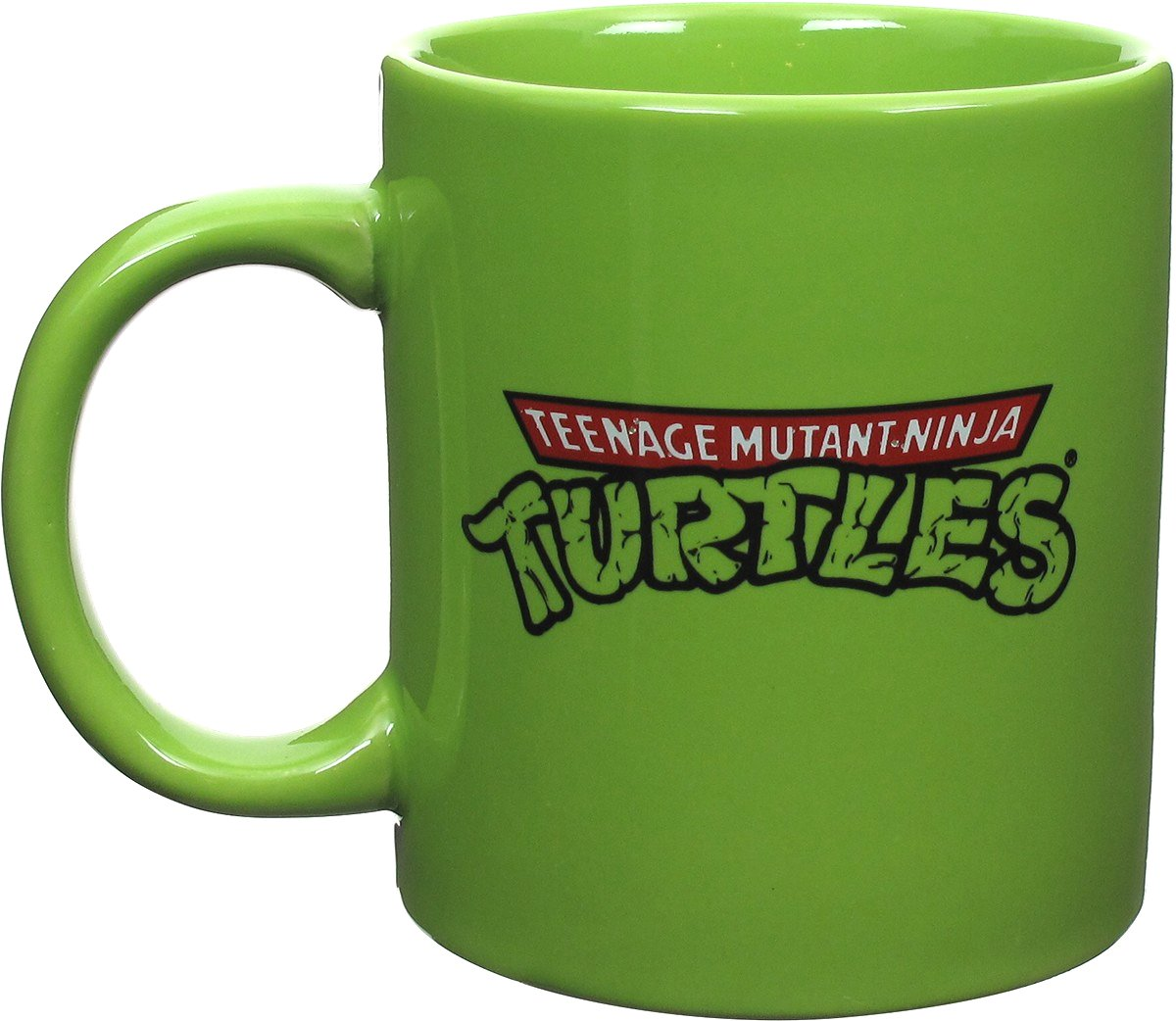 Ninja Mugs Ninja Turtles Embossed Turtle Power Jumbo Mug
