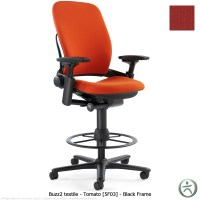 Steelcase Leap Drafting Stool - Shop Steelcase Leap ...