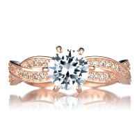 The gallery for --> Tacori Rose Gold Twist Ring