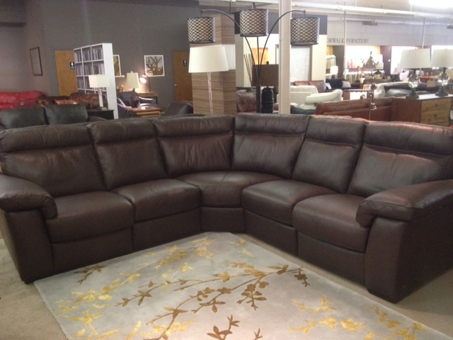 Norwalkfurniture B757 Reclining Sectional By Natuzzi Editions - Labor Day Sale!