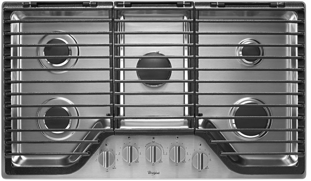 Whirlpool Countertop Stove Reviews For Wcg97us6ds Whirlpool 36