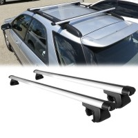 "135 CM / 53"" ROOF RACK CROSS BARS CAR TOP TRAVEL CARRIER ..."