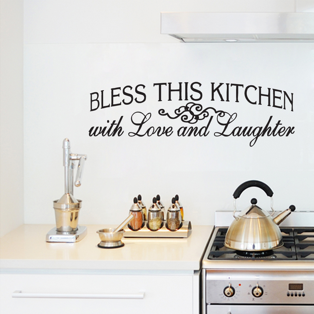 kitchen seasoned love wall sticker decals short news personalised kitchen wall sticker decals