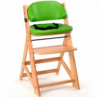Keekaroo Height Right Kids Chair + Comfort Cushion Natural