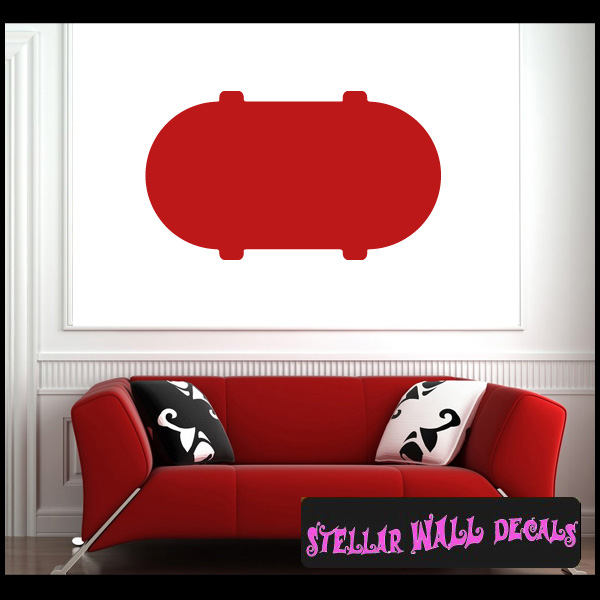 Custom Templates backround borders Shapes NS200 Wall Decal - Wall