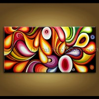 extra large wall art original modern abstract oil painting ...