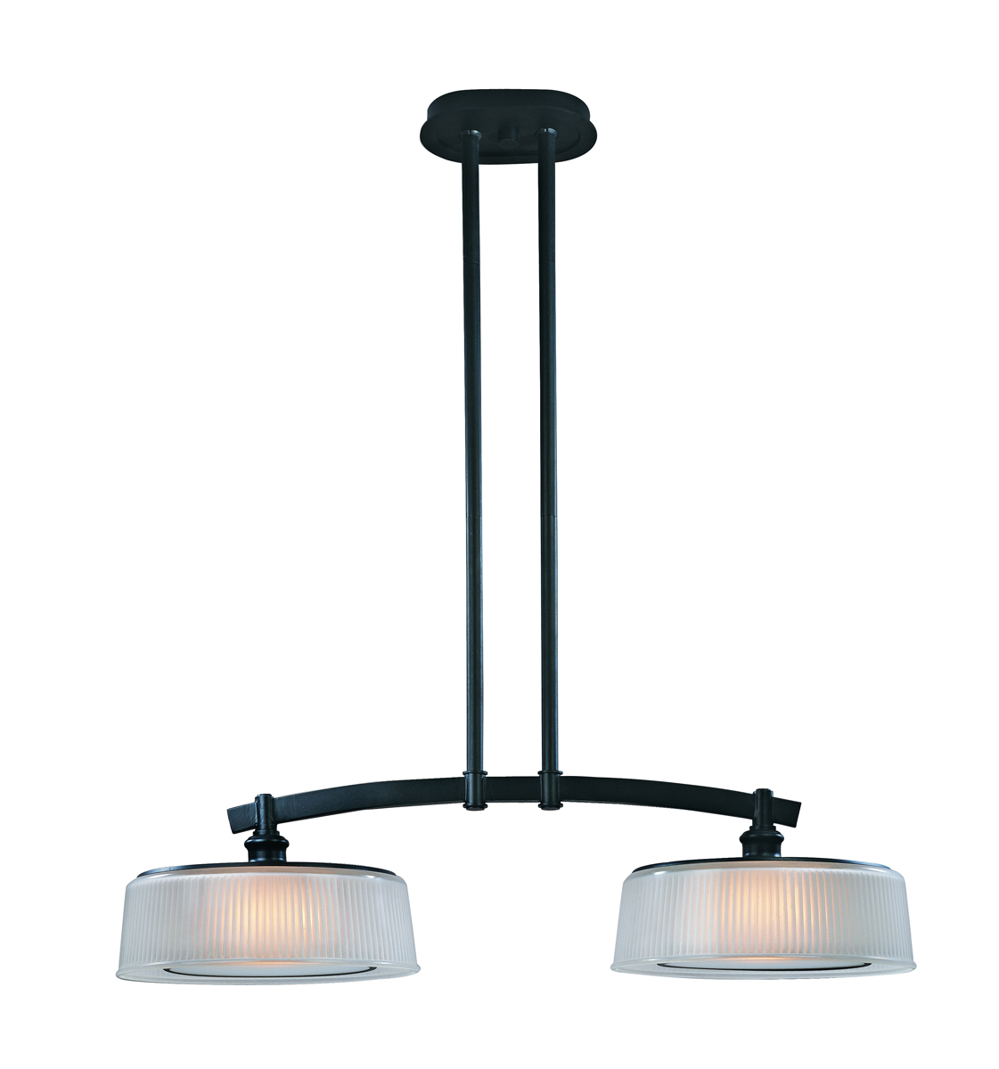 Plafondbeugel Lamp Troy Lighting F2239 Finley 2 Light Island Pendant