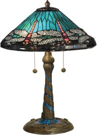 Dale Tiffany TT15159 Dragonfly Tiffany Antique Bronze ...